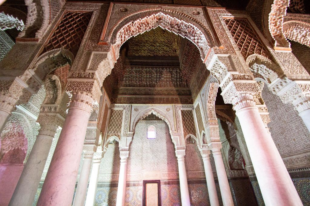 The Saadien Tombs are a must-see on any Marrakech 2-day itinerary.
