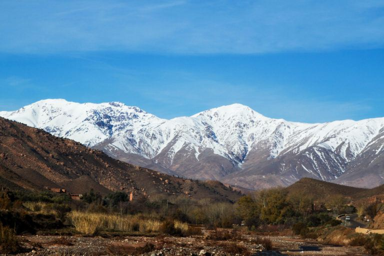 Road Trip in the High Atlas Mountains of Morocco