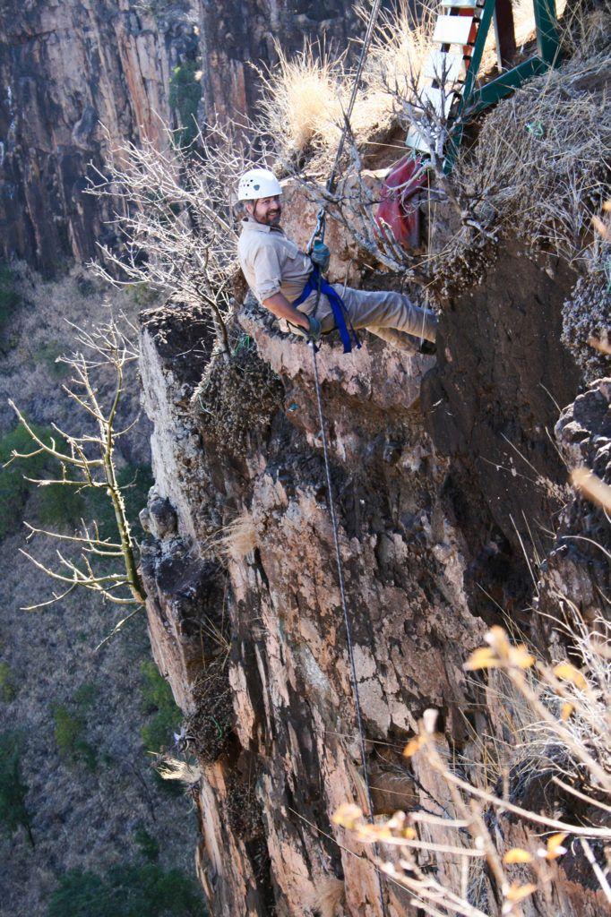Rappelling down Batoko gorge is one of the most popular Victoria Falls Activities.