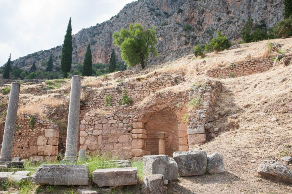 Visit the Delphi Ruins and walk the Sacred Way for views like this.