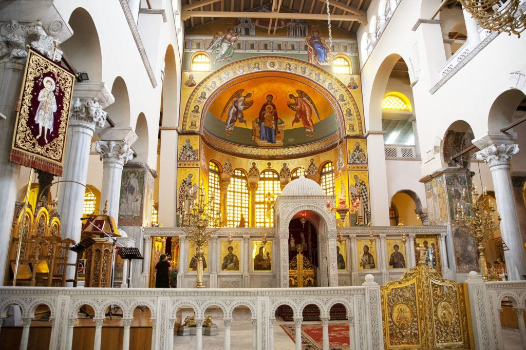 St. Demetrios is one of the most famous of the churches in Thessaloniki.