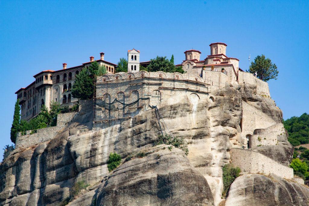 Great Meteoran Holy Monastery of the Transfigureation Savior.