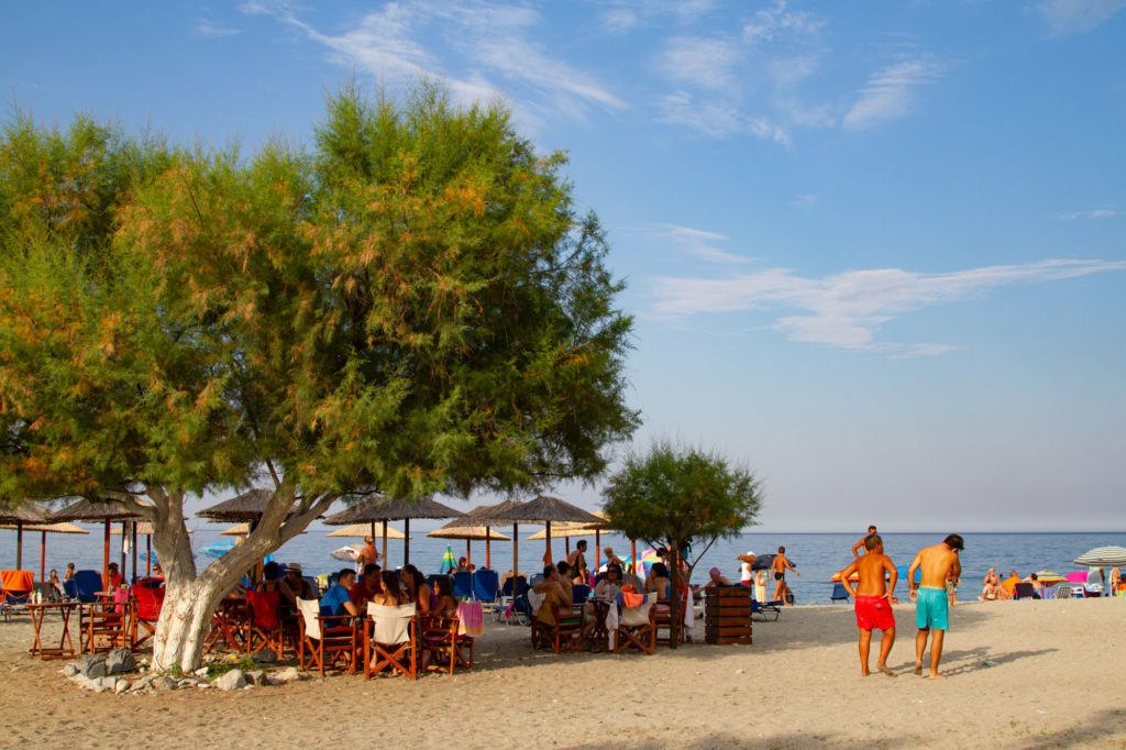 Platamona Beach was a great stopover on our road trip.