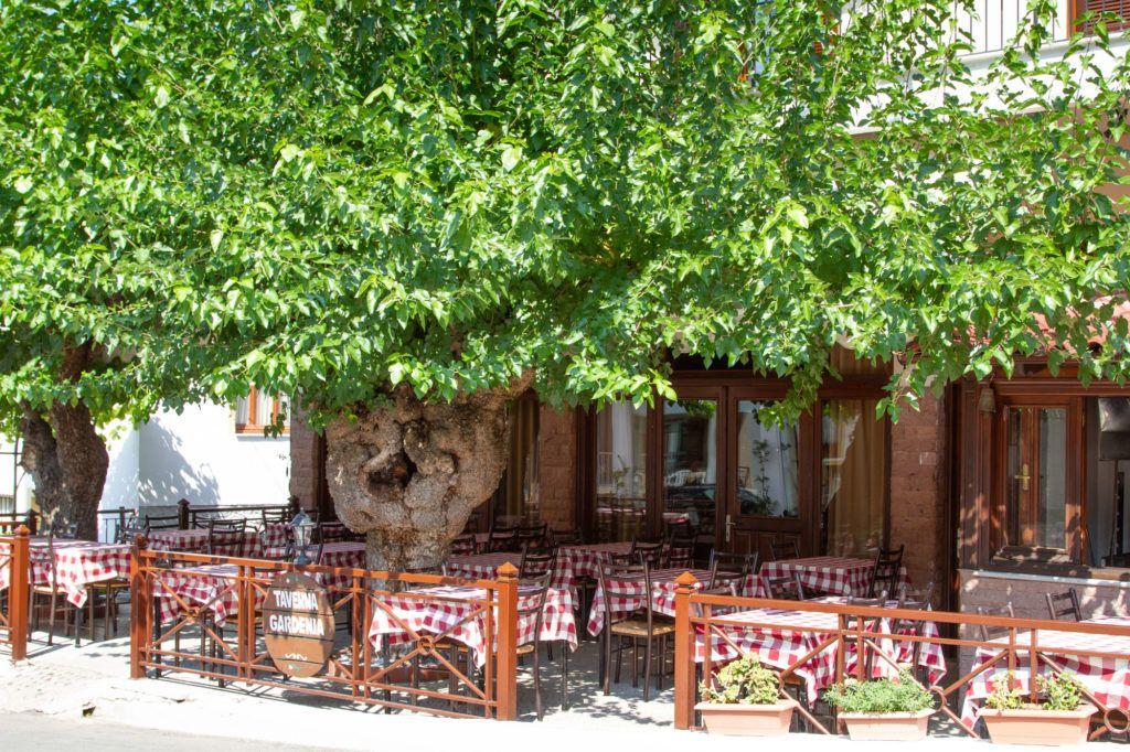 Taverna Gardenia in Kastraki.