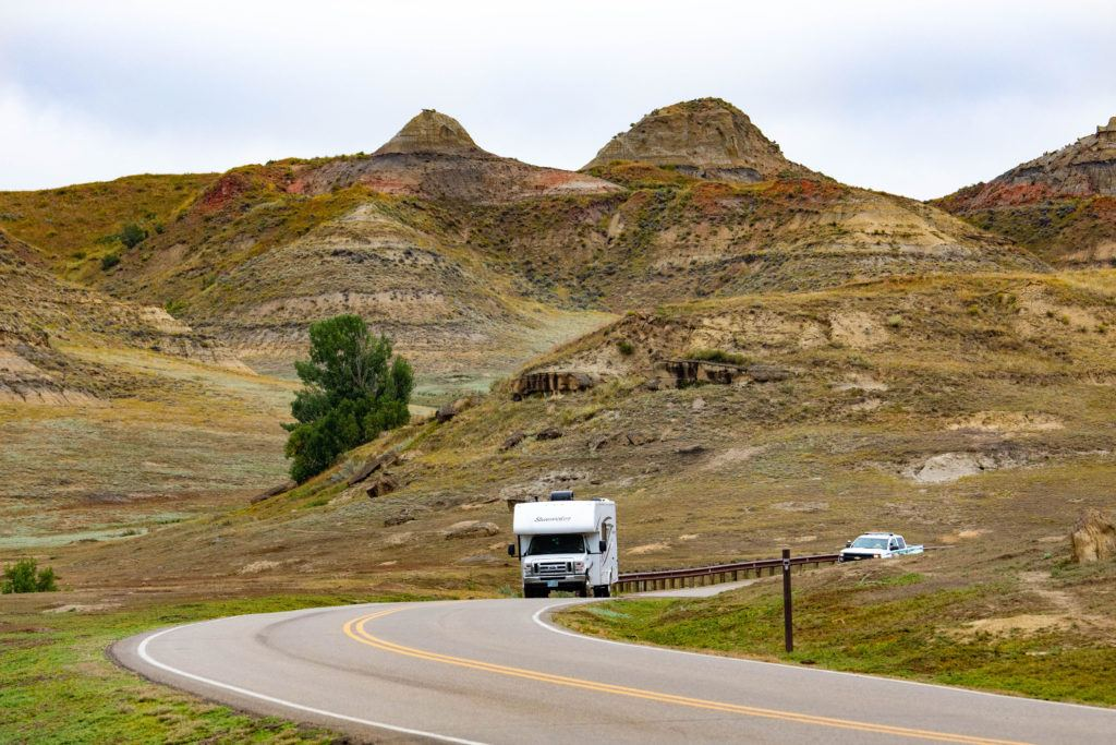 Camping and road tripping in North Dakota are the things to do!