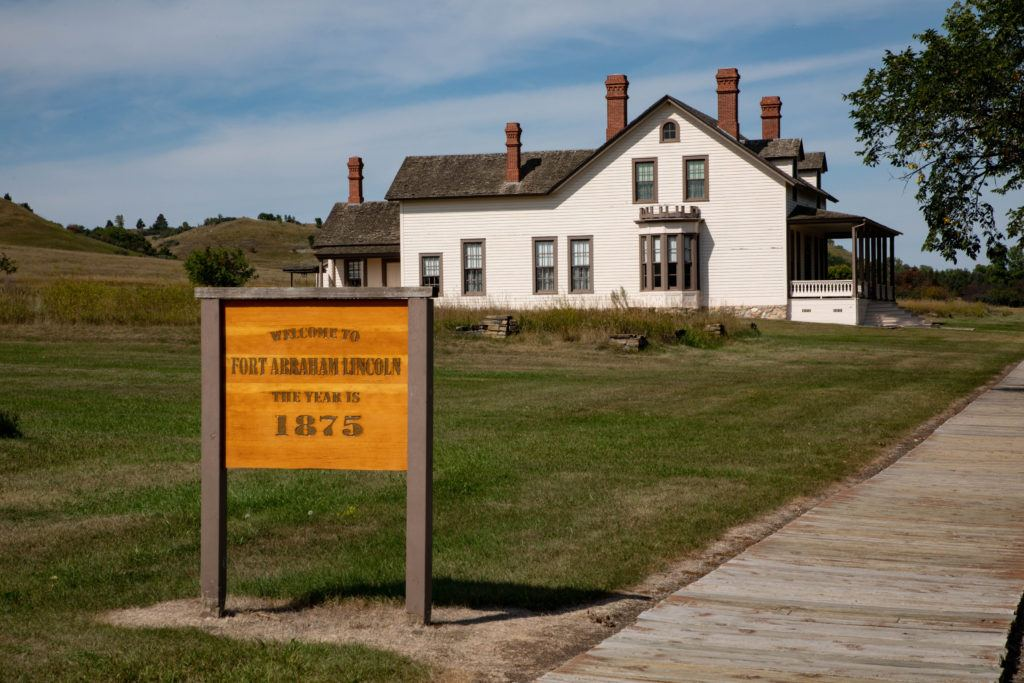 Historical sites, such as the Lincoln House, belong on your North Dakota bucket list.