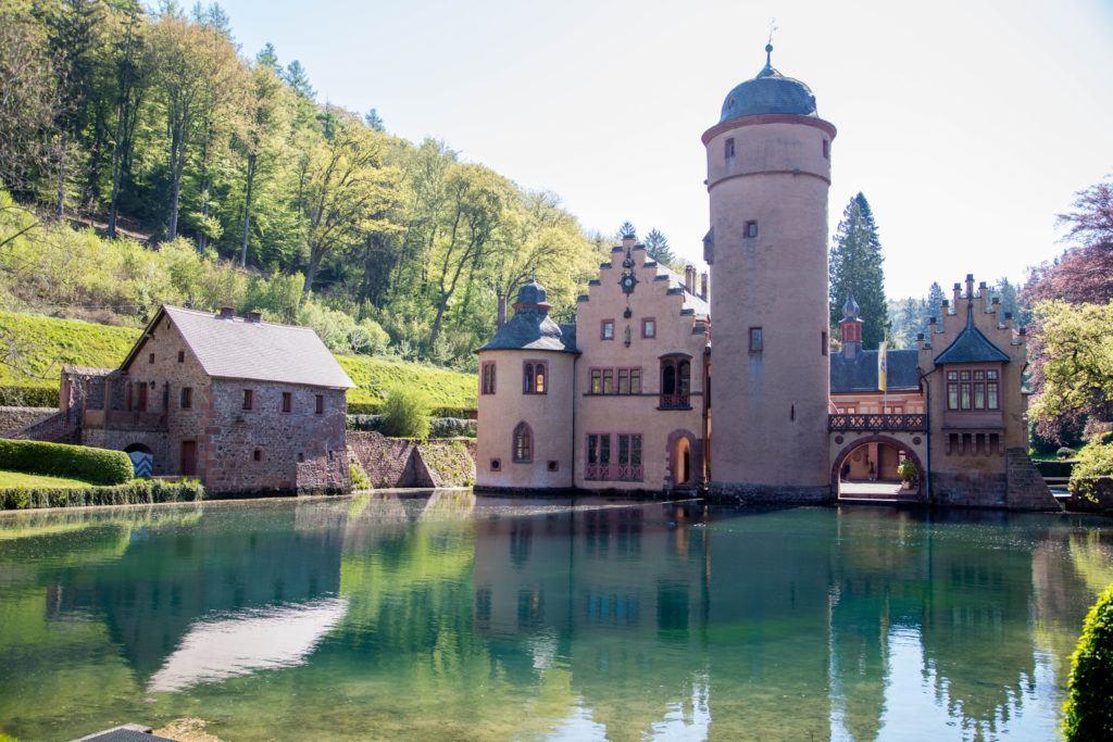 Schloss Mespelbrunn, a Fairy Tale Castle available for tours or as an event venue.