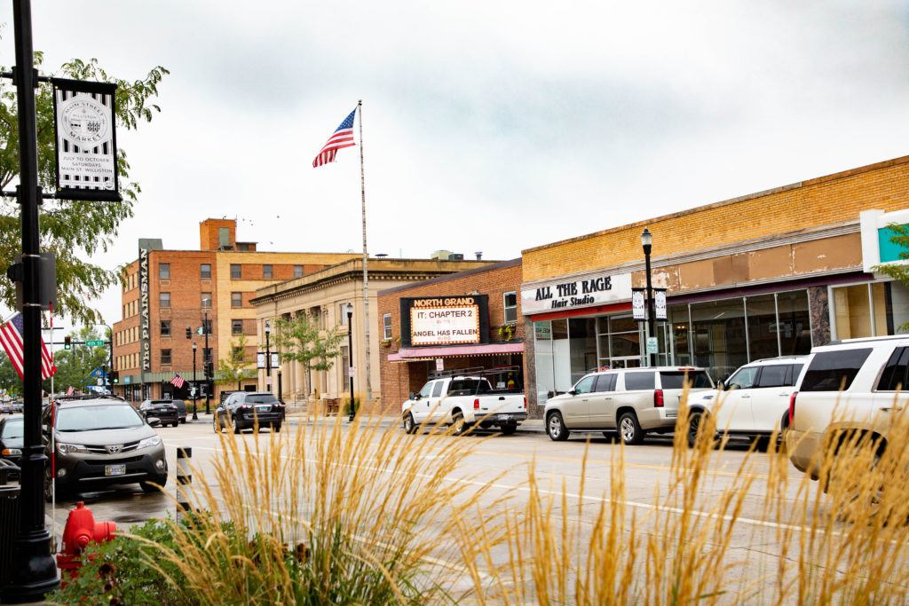 One of the cities to go on your North Dakota bucket list is Williston with its walkable downtown.