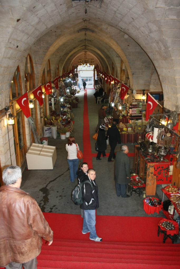 One of the best things to visit in Sanliurfa is the covered bazaar.