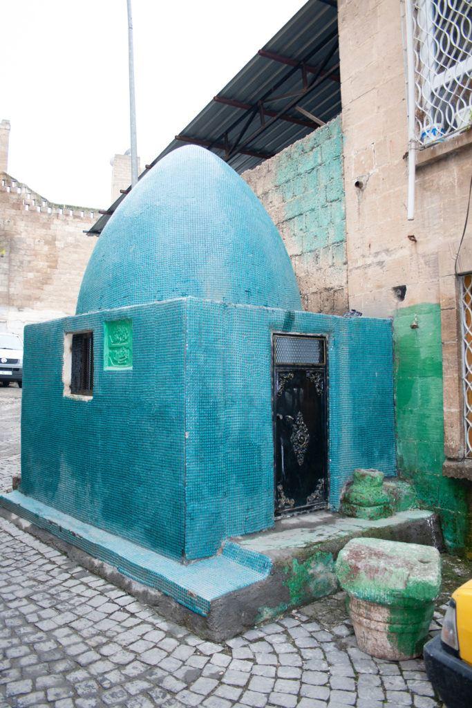 A tomb or turbesi in Sanliurfa.