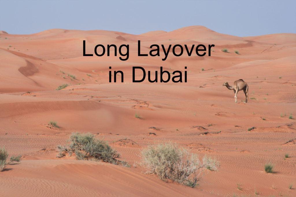 Long layover in Dubai.