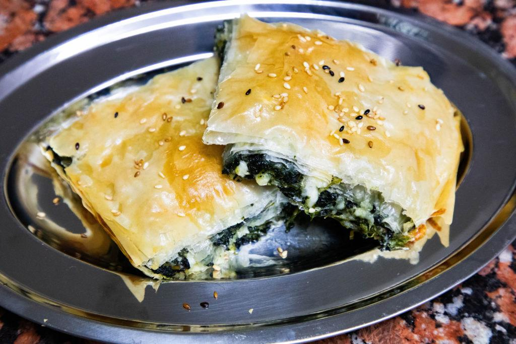 Cheese and Spinach Borek (Recipe).