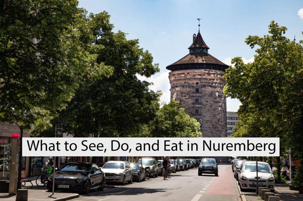 Frauentor, part of the fortifications in Nuremberg, Germany.