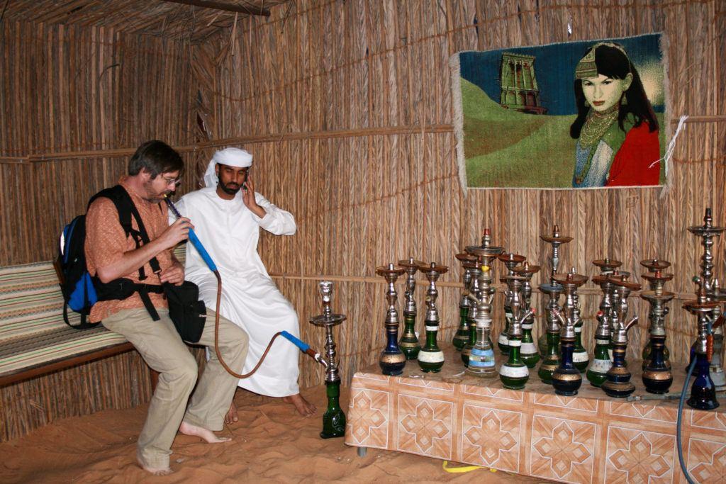Trying shisha is must do in Dubai.