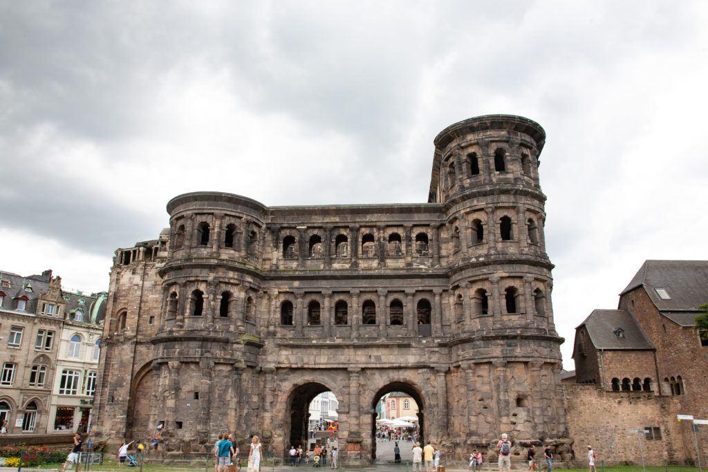 Porta Nigra, Roman Gate of Trier.