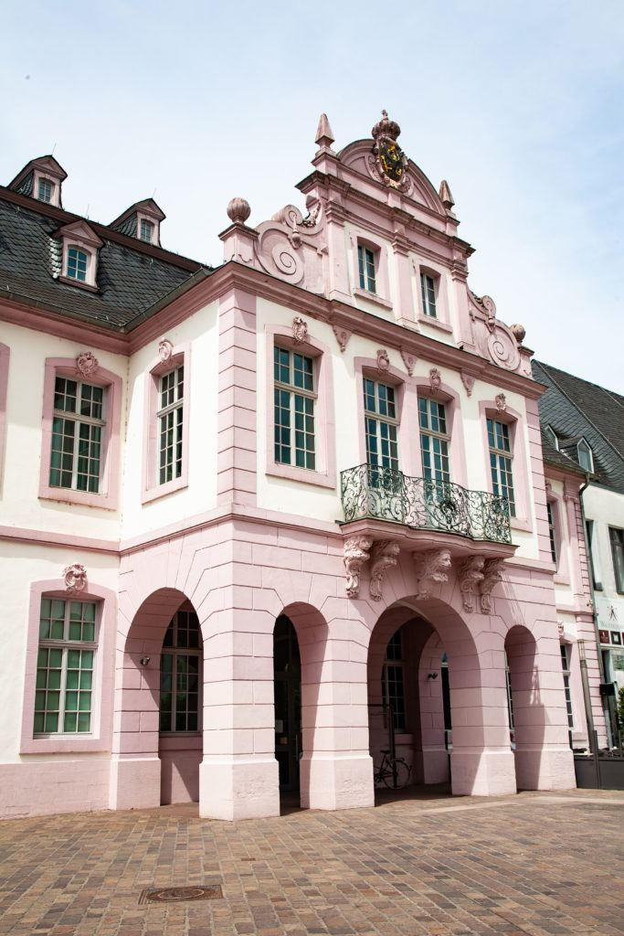 The Elector Palace or Schloss Walerdorff, a must-visit in Trier.
