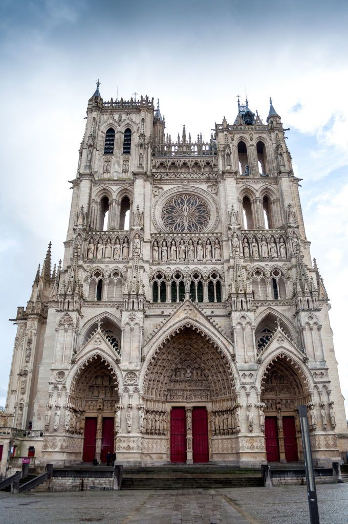 Amiens Cathedral is one of France's world heritage sites.