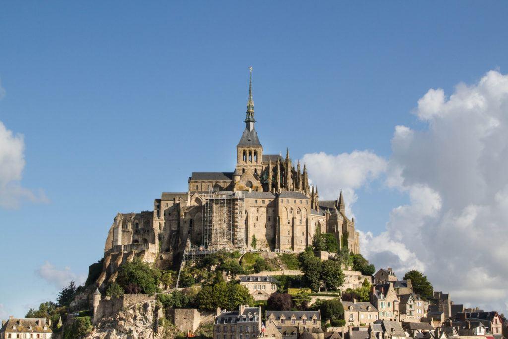 Mont St. Michel, world heritage France.