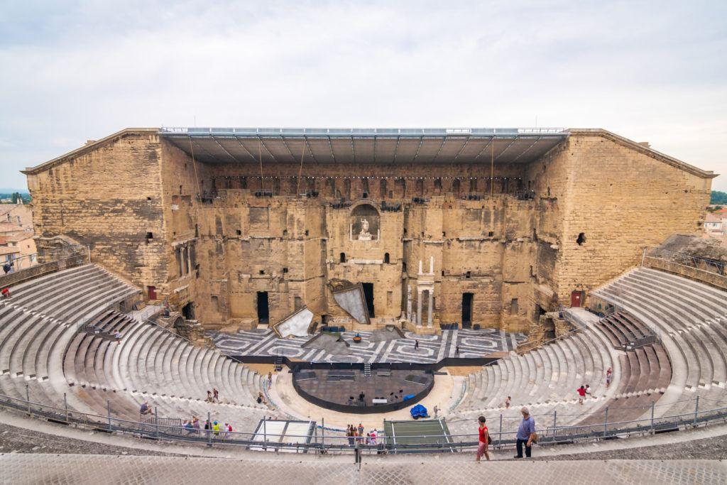 Orange Amphitheater, France.