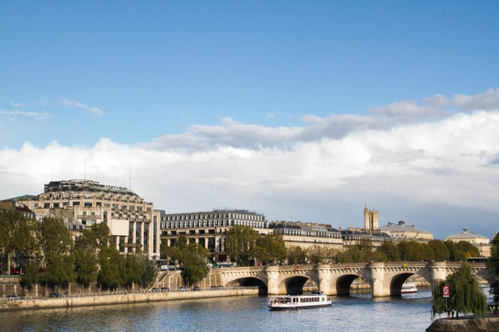 A boat tour will take you all along the Seine and explain what's on the banks.