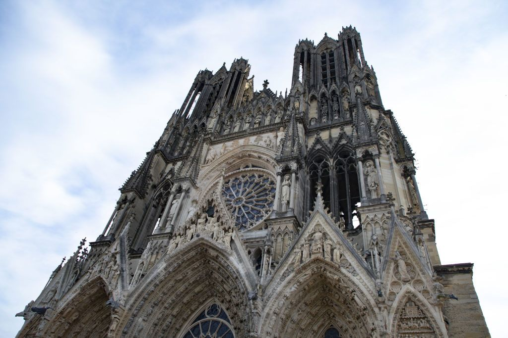 Reims Cathedral, France Patrimonial.