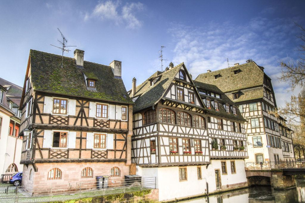 The Grand Ile is the oldest part of the world heritage city of Strasbourg.