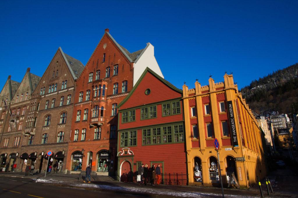 Exterior of the Hanseatic Museum, Bergen, Norway.