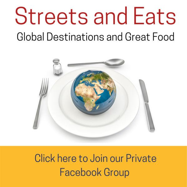 Streets and Eats, a fantastic Facebook group and online community.